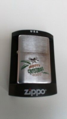 BNIB 2005 limited edition Christmas zippo lighter 31/50