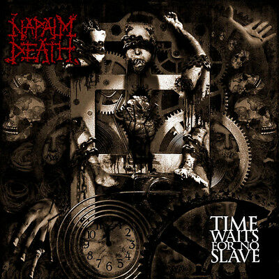 NAPALM DEATH - Time Waits For No Slave  LP  CLEAR