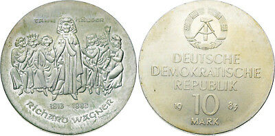 DDR - 10 Mark 1983 (A) - Wagner
