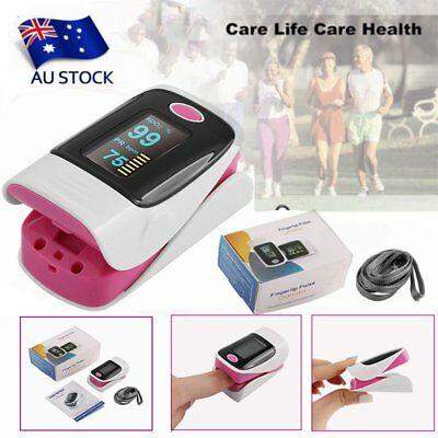 OLED Fingertip Pulse Oximeter Heart Rate Monitor Oxygen Saturation HemoglobKU