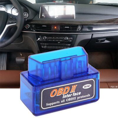 V2.1 Bluetooth ODB2 Android Car Scanner Torque Auto Scan Diagnostic Tool  FF