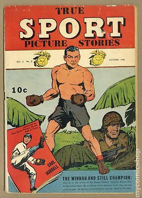 True Sport Picture Stories Vol. 2 (1944) #3 GD 2.0