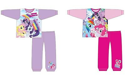 Girls Children My Little Pony Unicorn Party Pink Horse Nightwear Pyjamas 18mth-5