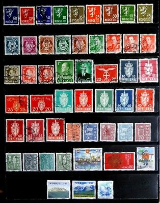 Norway: Classic Era To 1970's Stamp Collection
