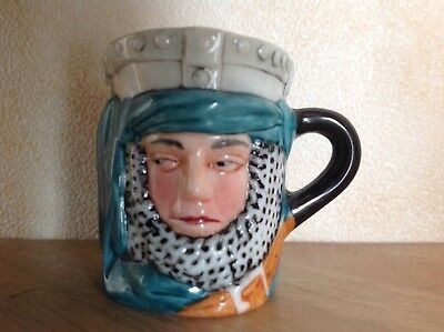 Ivanhoe , Miniature Character Toby Jug, 1982, Collectable