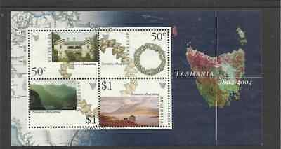 Ms2356 Australia Bicentenary Of Settlement Of Tasmania Fine Used Mini Sheet