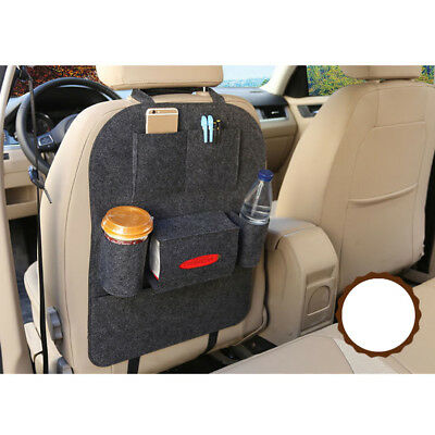 NEW Car Auto Cushion Seat Back Protector Bag Cover For Children Kick Mat Clean