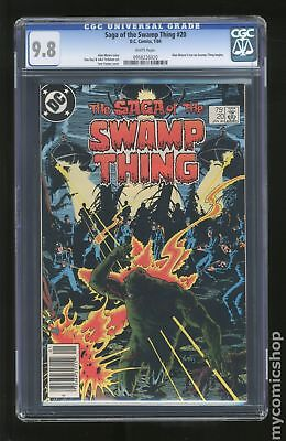 Swamp Thing (1982 2nd Series) #20 CGC 9.8 0958226020