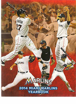 Miami Marlins 2014 Yearbook