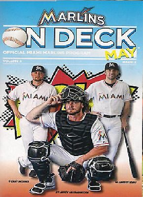 TAMPA BAY RAYS @ MIAMI MARLINS PROGRAMME  3rd June 2014