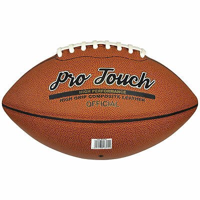 10 x Midwest Pro Touch American Football Official Size Balls rrp£180
