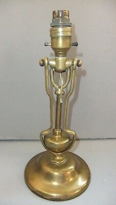 Nautical Brass Lamp Fixture