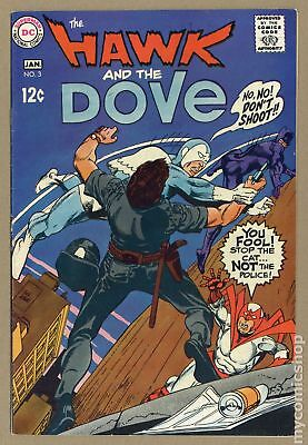 Hawk and Dove (1968 1st Series) #3 FN 6.0