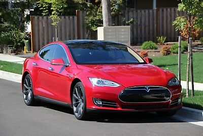 "2013 Tesla Model S  2013 Tesla S 85P (Performance, Leather, Glassroof, 21"")"