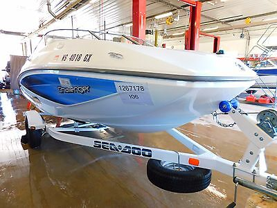 20' Sea Doo Challenger 215HP Rotax Jet Sea Doo Trailer T1267178
