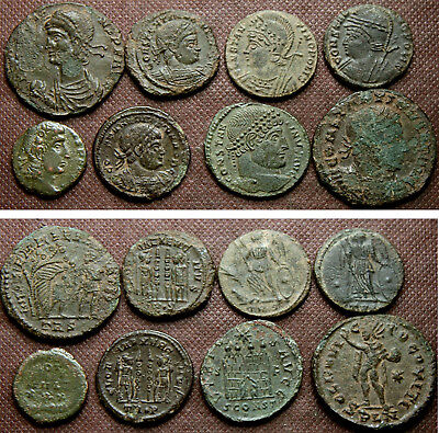8 Later Roman Coins
