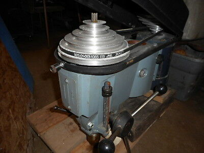 """Delta New 15"""" Drill Press Head 6 Speed With 1/2"""" Jacobs Chuck"""