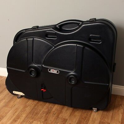Scicon Aerotech Evolution Bike Box Hard Travel Case With Wheel & Saddle Bags