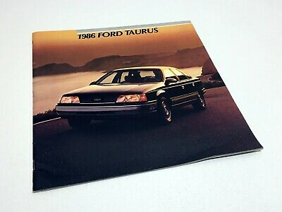 1986 Ford Taurus Brochure