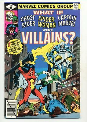 What If? #17   Ghost Rider Spider Woman Captain Marvel Were Villains
