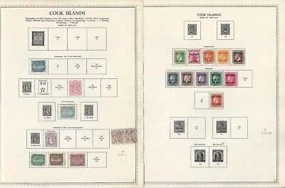 Cook Islands Collection 1892-1985 on Minkus Specialty Pages, 135 Pages