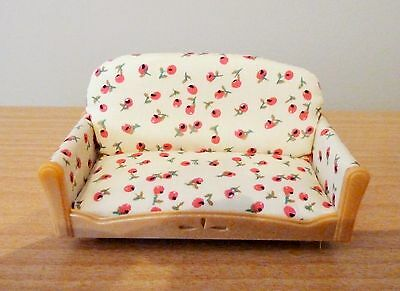 Sylvanian Families Spares * 2-Seater Cherry Design Sofa * Combined P+P New  (G)