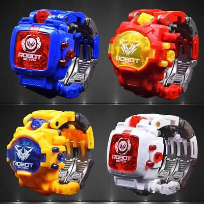 Transformers Prime Watch Robot Action Figures Rescue Bots Toy Z