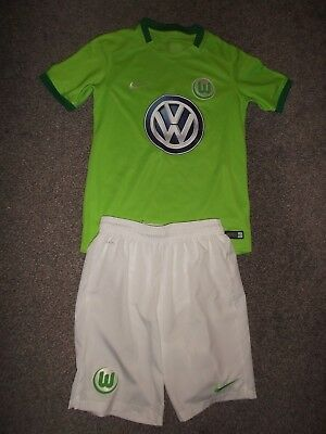 Wolfsburg Home Shirt And Shorts - Nike, Volkswagen