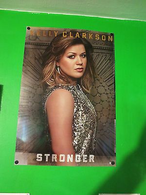 KELLY CLARKSON 2 Sided Poster 12 x 17.5 Stronger