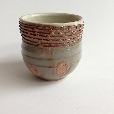 Signed Japanese Pottery Tea Cup