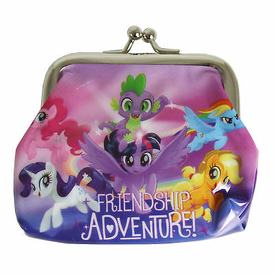 Children's Character PVC Metal Clasp Coin Purse - My Little Pony