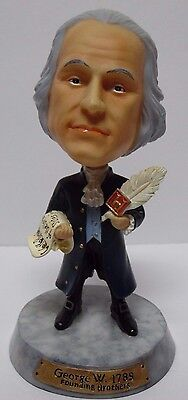 Rare President George Washington Founding Brothers History Channel Bobblehead