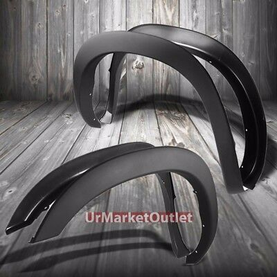 """M.Black ABS OE Style Wheel Fender Flare Guard For 02-08 Ram 1500 78""""-97.9"""" Bed"""