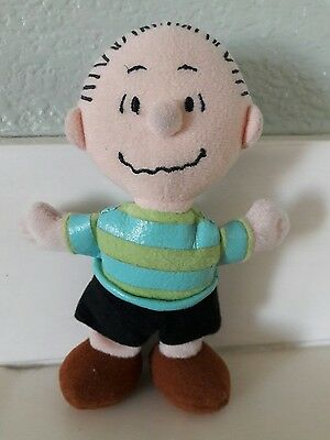 Mini Plush Linus Vintage Snoopy Peanuts Stuffed Soft doll 5.75""