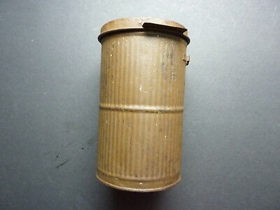 WWI 1918 Dated French Gas mask Cannister
