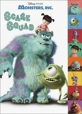 Monsters Inc Scare Squad (Tabbed Coloring Book)