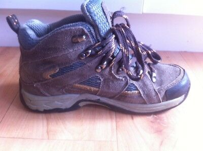 Kids KATHMANDU Hiking Walking Boots AUS Size 3 Child's Brown Shoes Activewear