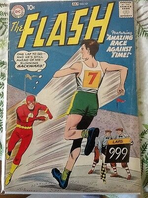 The Flash #107, 1959, Gorilla Grodd, Vg Condition