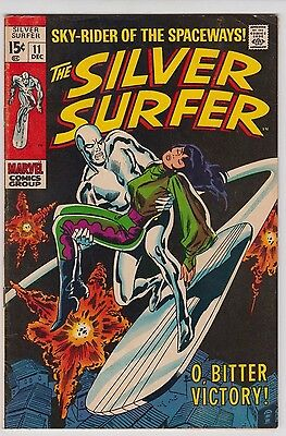 Silver Surfer #11 1969 Marvel Comics Fine+ Condition