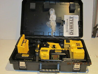 Dewalt Dc233Kldh 36Volt Rotary Hammer Drill Kit With Dust Extraction F/shp New