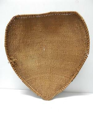 LARGE c1890-1910 ANTIQUE VINTAGE WASHOE INDIAN SEED BASKET -CLEAN TWINED WILLOW