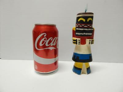 """6 1/8"""" Tall Vintage Hopi Indian Highway Route 66 Warrior Kachina Doll - Early Nr"""