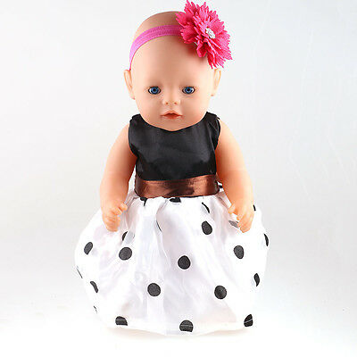 1set Doll Clothes wear for 43cm Baby Born zapf (only sell clothes ) B58