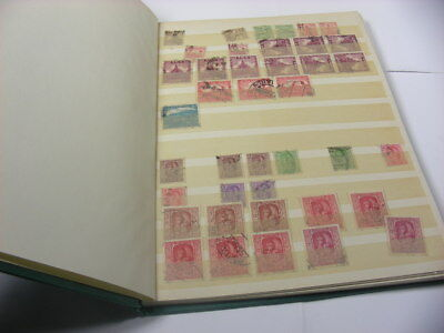 NEPAL, Accumulation of 100's of USED Stamps in a stock book