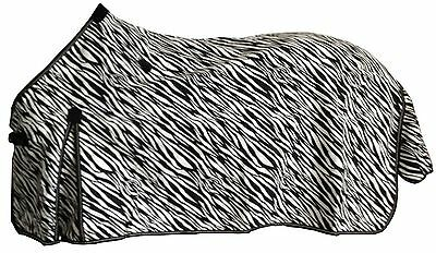 Rejected Axiom Polycotton Zebra Ripstop Unlined Horse Rug (785Pz) - 6'3