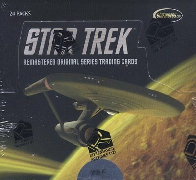 Rittenhouse Star Trek Remastered Original Series Trading Card Box