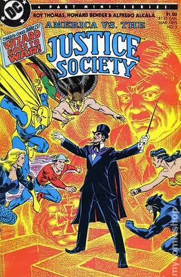 America vs. Justice Society (1985) #3 VF