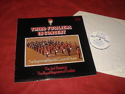 MILITARY BRASS: THIRD FUSILIERS In concert LP