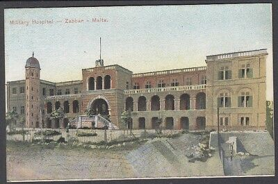 Malta - Zabbar Military Hospital - Early Postcard