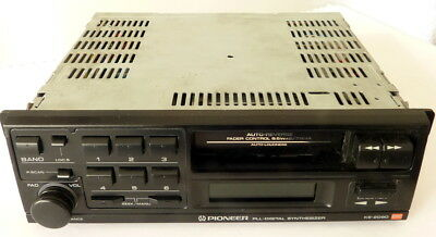 Pioneer KE-2090B Cassette Car Stereo with FM/MW/LW Electronic Tuner + Svce Man